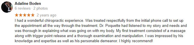 Helping Hands Chiropractic Patient Testimonial